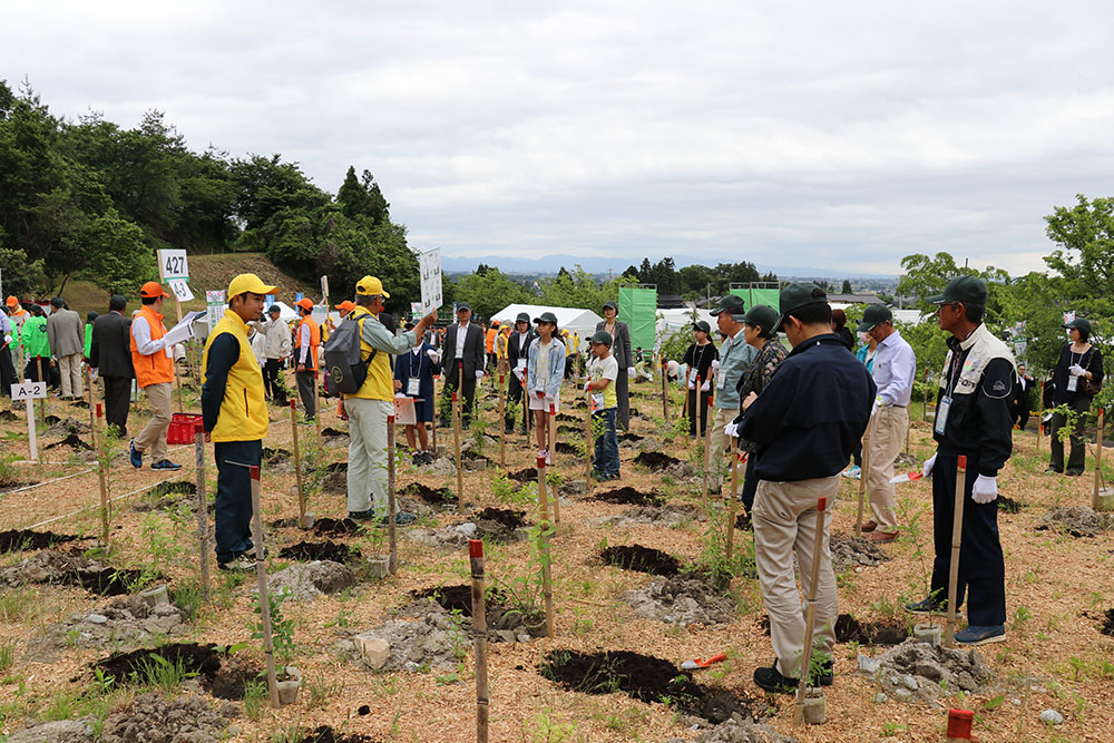 第68回全国植樹祭(丸山総合公園会場)の写真